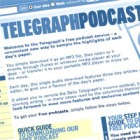 Ejemplo de Telegraph Podcast como periodismo de marca