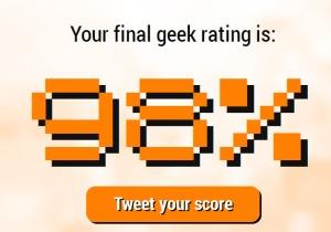 Concepto de Geek